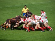 Rugby match between Poland vs Belgium 1