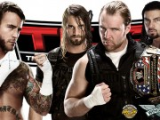 CM Punk with The Shield