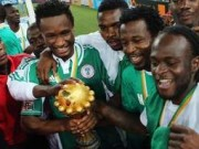 Eagles with Afcon