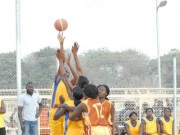 Youth Games basketball