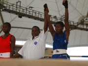 Youth Games boxing winner