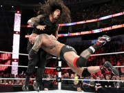 Batista in action at Royal Rumble