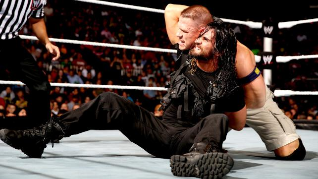 Cena in tough challenge with Seth Rollins at The Smackdown
