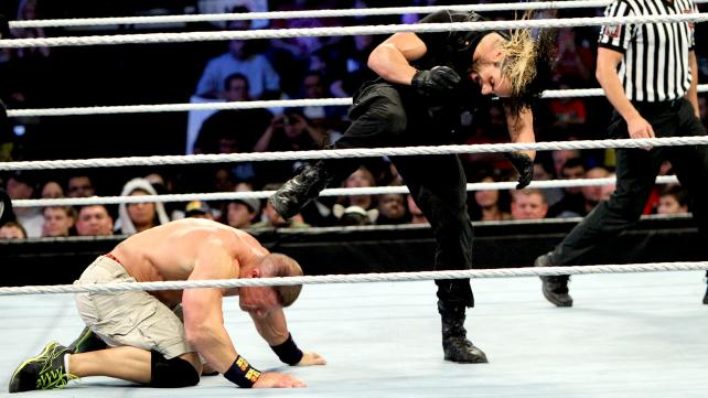 Cena with his opponent