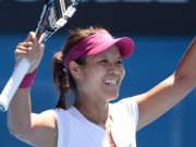 Li Na in Aussie open final