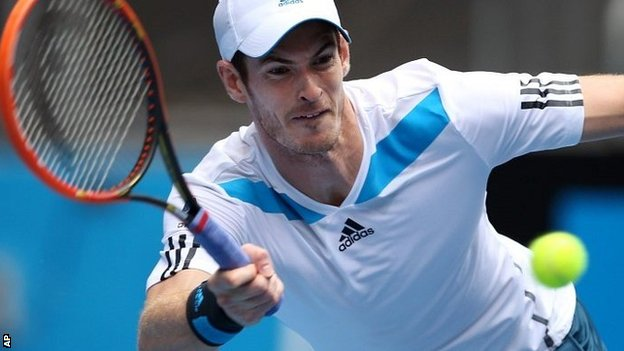 Murray strokes on at Aussie open