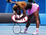 Serena down and out of Aussie Open