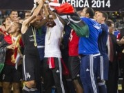 Libya players lift 2014 chan title