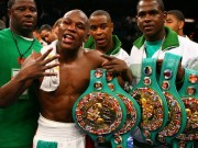 Mayweather s many belts