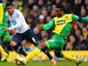 Yobo in action for Norwich