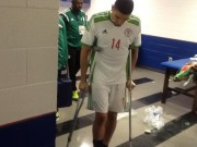 Leon balogun on walking sticks