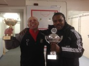 Peter Ijeh wins first cup as coach