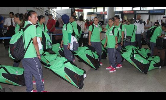 Algerian female team