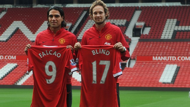 Falcao joins United