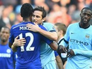Lampard embrace Mikel