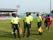 Referees on duty