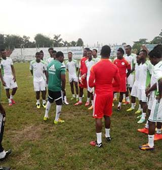 Home Eagles at Uyo Stadium
