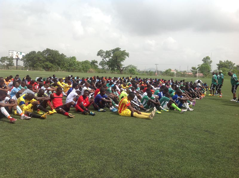 Eaglets screening with over 600 players