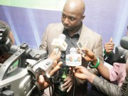 Siasia addressing the media