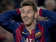 Messi surprised