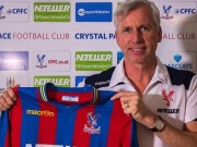 Pardew appointed Palace boss