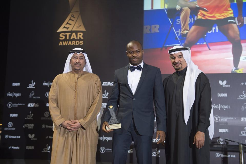 Quadri wins ITTF award