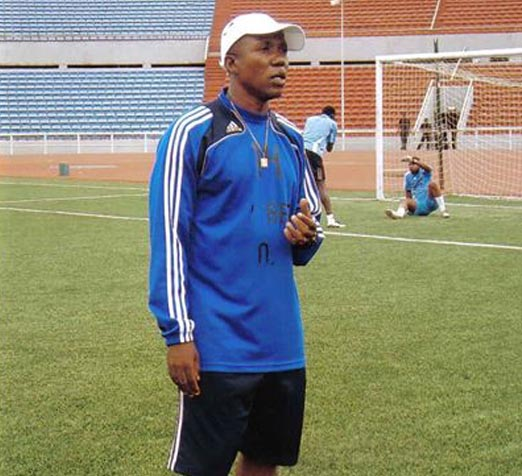 Coach Tunde Sanni of Kwara United
