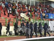 Equatorial Guinea fans on rampage