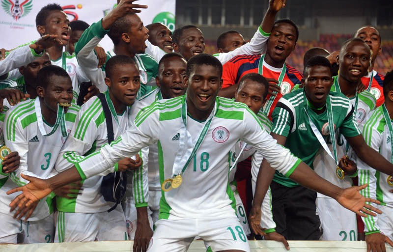 Football - 2014/15 Glo Nigeria Premier League Pre Season Tournament - Dream Team v Flying Eagles  - National Stadium Abuja