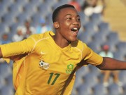 Football - 2014 African Youth Championships qualifier - South Africa v Tanzania - Dobsonville Stadium
