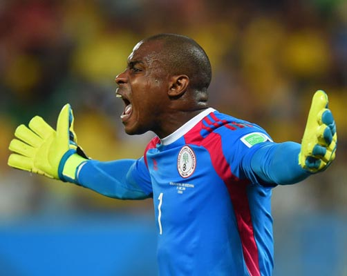 Enyeama marks 100th cap with defeat