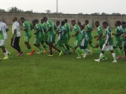 U-23 Eagles in training