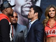 Mayweather and Pacquiao ahead of big fight
