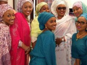 Buhari s wife and daughters