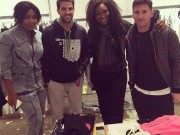 Ebube Nwagbo shows off photo with Messi, Fabregas