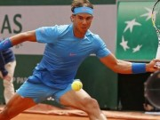 Nadal in action