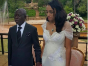 Oshiomole with new wife Forte