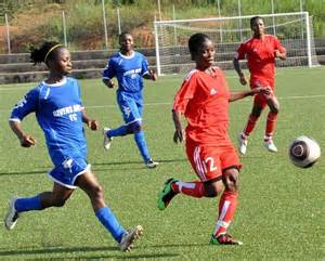 Rivers Angles FC in action