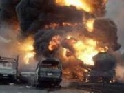 Petrol Tanker explodes in Onitsha kills 69