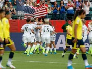 USA women beat Colombia to reach q final