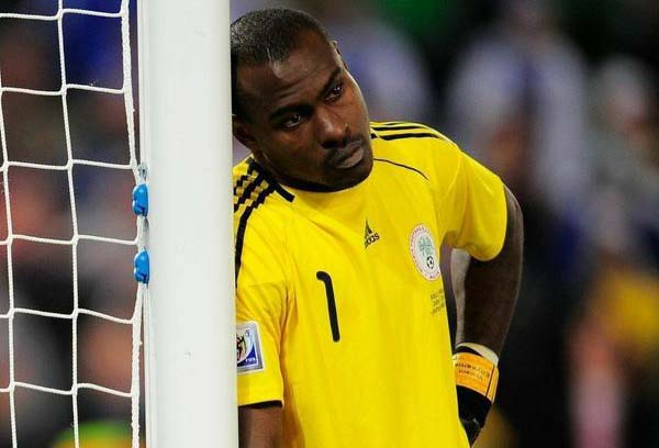 Enyeama is sad