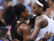 Serena with Venus at US Open
