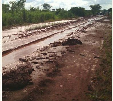Road in Enugu area 2