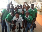 2face with U-23 Eagles in Senegal