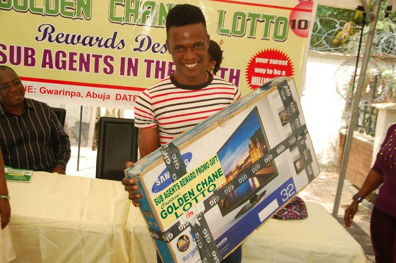 Golden Chance Lotto Rewards Abuja Sub Agents