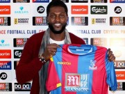 Adebayor signs for Palace