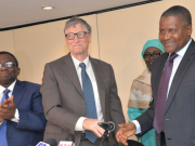 Dangote with Bill Gates