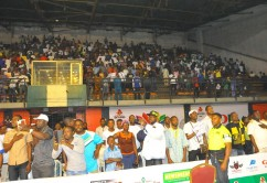 Fans at GOtv Boxing Night 2