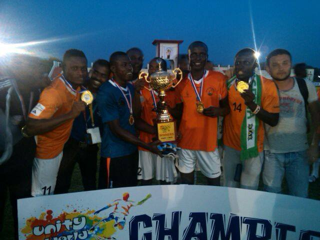 MFM FC win church world cup in India 2014