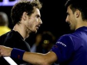 Murray with Djokovic